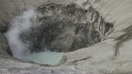 Large crater Bromo in Indonesia 2 Stock Footage