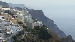 Santorini Greek Islands - stock footage