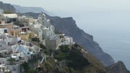 Stock Video Footage of Santorini Greek Islands
