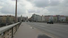 Dancing House in Prague.. Stock Footage