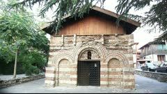 Typical church, Nessebar, Bulgaria Stock Footage