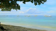 Resort Beach. Stock Footage
