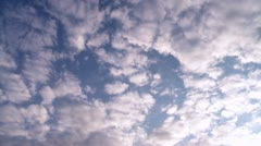 Clouds - TIMELAPSE - stock footage