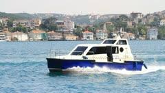 Istanbul Sea Taxi Stock Footage