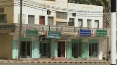 Building in Salalah Oman Stock Footage