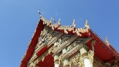 Temple in Bangkok Stock Footage