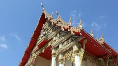 Thailand Temple Stock Footage