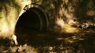 Water magical enchanted tunnel Stock Footage