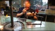 Stock Video Footage of Diamond polishing Amsterdam, Holland
