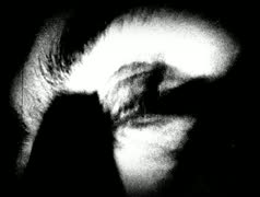 Old footage Creepy Eyes 2 - stock footage