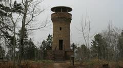 Firetower - stock footage