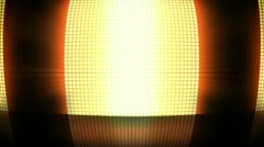 Yellow disco lights Stock Footage