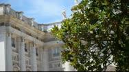 Royal Palace at Madrid Spain Stock Footage