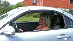 Car key Stock Footage