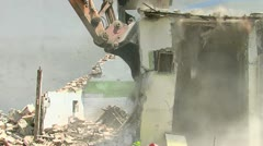 Demolition 30 fps 16 Stock Footage