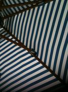 Striped Umbrella - stock photo