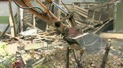 Demolition 30 fps 02 Stock Footage