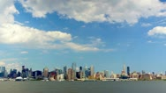 Manhattan skyline Stock Footage