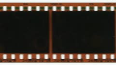 35mm film advancing. - stock footage