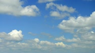 Time lapse sky with clouds moving. Stock Footage