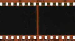 Film advancing - stock footage