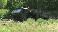Oshkosk FHTV heavy vehicle Stock Footage