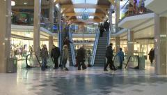 Mall Time lapse - stock footage