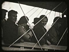 Vintage Niagara Falls Whirlpool Aero Car 02 - Old 16mm Film Stock Footage