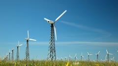 Wind Generators - stock footage