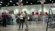 People Convention Time Lapse ( HD ) Stock Footage