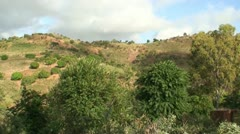 Hill  In Africa Stock Footage