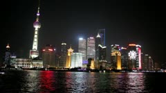 Shanghai Skyline Stock Footage