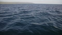 Surface of the sea Stock Footage