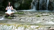 Stock Video Footage of Girl, meditation