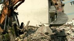 Demolition 25 fps 06 Stock Footage