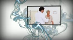 Animation of medical videos Stock Footage