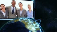 Videos of business people working Stock Footage