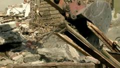 Demolition 25 fps 08 Stock Footage