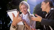 Female business executives Stock Footage