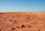 Stock Photo of Drought Striken Terrain