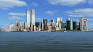 Stock Video Footage of Lower Manhattan w/ WTC 1080p
