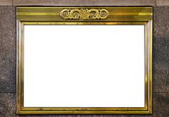 Classic Marquee Frame Stock Photos