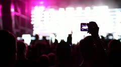 Dance music festival Stock Footage