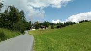 European Alps Austria 10 Stock Footage