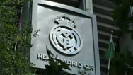 Stock Video Footage of Estadio Santiago Bernabeu Madrid 06