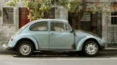 Volkswagen beetle unique collection Stock Footage