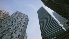 Famous skyscrapers in Kuala Lumpur 4 - stock footage