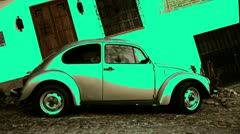 Volkswagen beetle largest collection Stock Footage