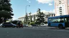 Estadio Santiago Bernabeu Madrid 12 Stock Footage
