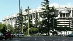 Estadio Santiago Bernabeu Madrid 13 Stock Footage